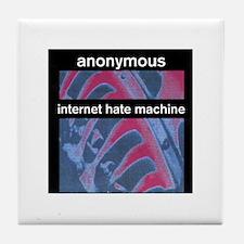 Unique Hate computers Tile Coaster