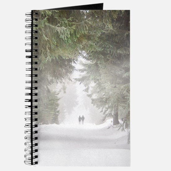 Lovers in the Snow Journal