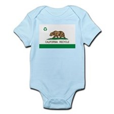 California Recycle Flag Body Suit