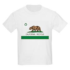 California Recycle Flag T-Shirt