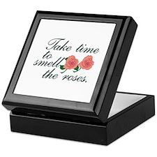 Take Time To Smell The Roses. Keepsake Box