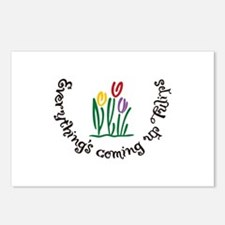Everythings Coming Up Tulips Postcards (Package of