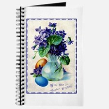 Easter Violets Vintage Journal