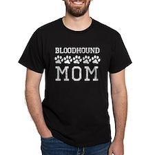Bloodhound Mom (Distressed) T-Shirt