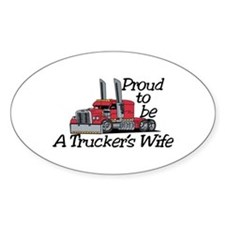 Truckers Wife Decal