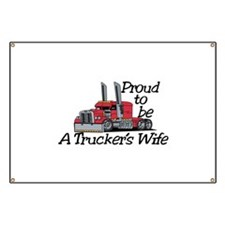 Truckers Wife Banner