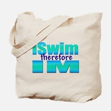 iSwim therefore IM Tote Bag