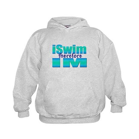 iSwim therefore IM Kids Hoodie