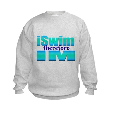 iSwim therefore IM Kids Sweatshirt