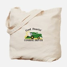 God Fearin Combine Driver Tote Bag