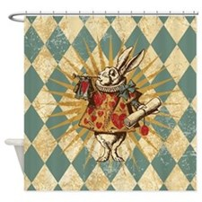 Cute Alice's adventures in wonderland Shower Curtain