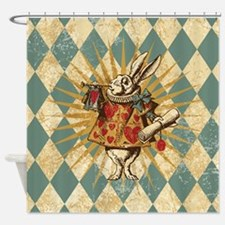 Cute Alice%27s adventures in wonderland Shower Curtain