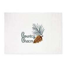 Country Charm 5'x7'Area Rug