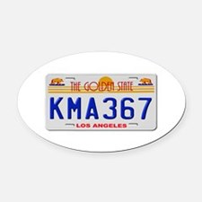 KMA 367 Oval Car Magnet