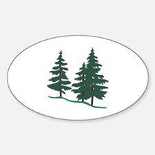Evergreen Trees Decal