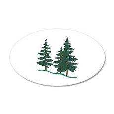 Evergreen Trees Wall Decal