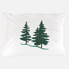 Evergreen Trees Pillow Case