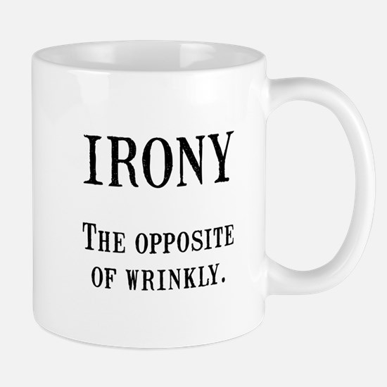 Irony Mugs