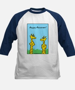 Happy Passover Kids Baseball Jersey