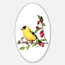 Goldfinch Decal