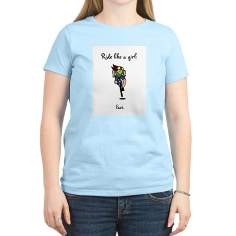 Women's Ride Like a Girl T-Shirt
