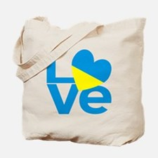 Ukrainian LOVE Tote Bag