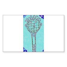 Cute Blue Tennis Racket 47 Derek's Fave Decal