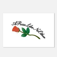 A Rose Like No Other Postcards (Package of 8)