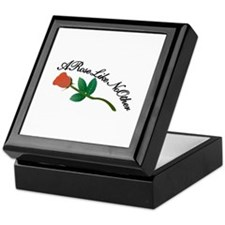 A Rose Like No Other Keepsake Box