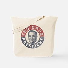 Vintage Ted Cruz 2016 Tote Bag