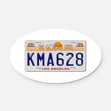 KMA 628 Oval Car Magnet