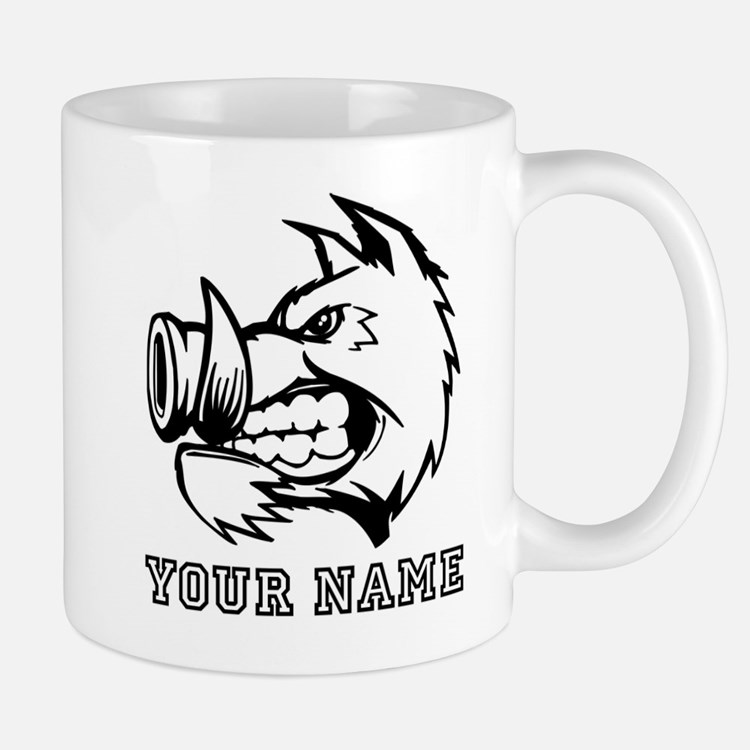 Razorback Boar (Custom) Mugs