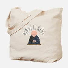 Meditation Mindfulness Tote Bag