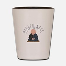 Meditation Mindfulness Shot Glass