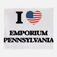 I love Emporium Pennsylvania Throw Blanket