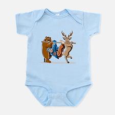 Anti-Hunting Wild Animal Revenge Infant Bodysuit