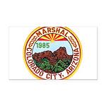Colorado City Marshal Rectangle Car Magnet