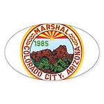 Colorado City Marshal Sticker (Oval 50 pk)
