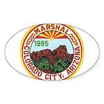 Colorado City Marshal Sticker (Oval 10 pk)