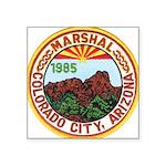 Colorado City Marshal Square Sticker 3
