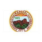Colorado City Marshal 35x21 Wall Decal