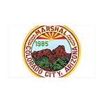 Colorado City Marshal 35x21 Wall Decal