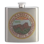 Colorado City Marshal Flask