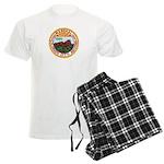 Colorado City Marshal Men's Light Pajamas