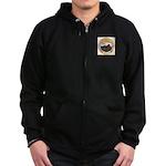 Colorado City Marshal Zip Hoodie (dark)