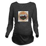 Colorado City Marsha Long Sleeve Maternity T-Shirt