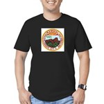 Colorado City Marshal Men's Fitted T-Shirt (dark)