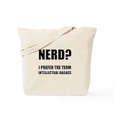 Nerd Badass Tote Bag