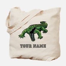 Mean Alligator (Custom) Tote Bag