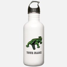Mean Alligator (Custom) Water Bottle